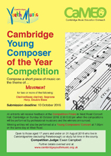 Composing Competition poster